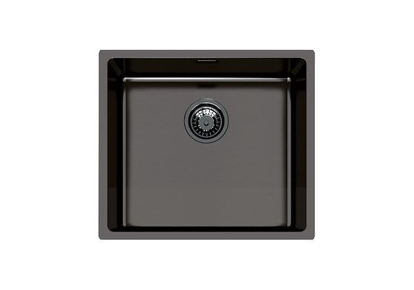 Black Stainless Steel Sink Kitchen Sink Basin In Gunmetal Black Stainless Steel