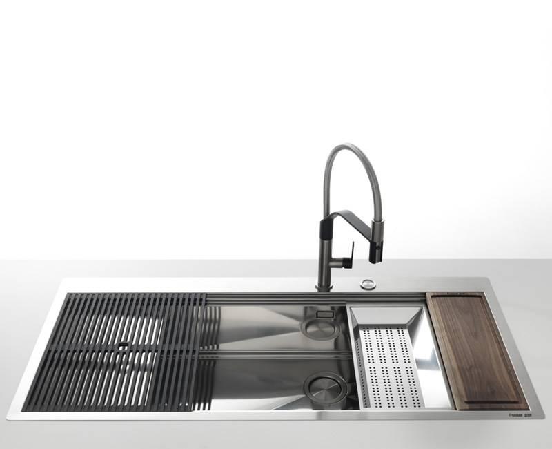 Accessori Lavelli Franke Acquario.Foster Gli Artigiani Dell Acciaio Per La Cucina Lavelli Piani Cottura Elettrodomestici Miscelatori Per La Cucina