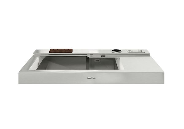kitchen sink with cabinet, cabinet with built-in sink