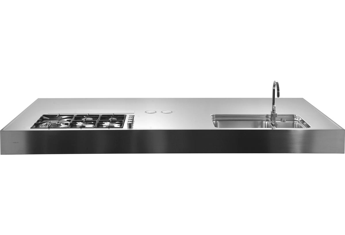 Custom Design Sinks Mixers Dishwashers Rangetop And Stainless Steel Tops Hobs Induction Hobs Gas Hobs Ovens And Coordinated Refrigerators Freestanding Outdoor Built In Sockets And Accessories