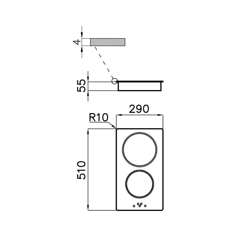 Aragaz S1000 Inducție 7322 300