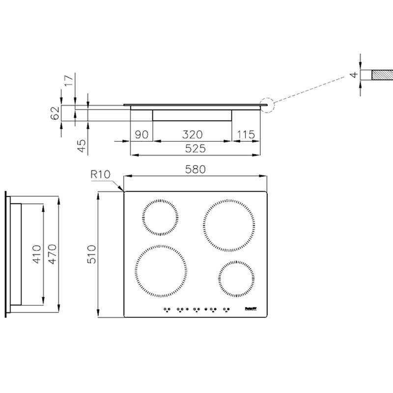 Aragaz S1000 Inducție 7370 300