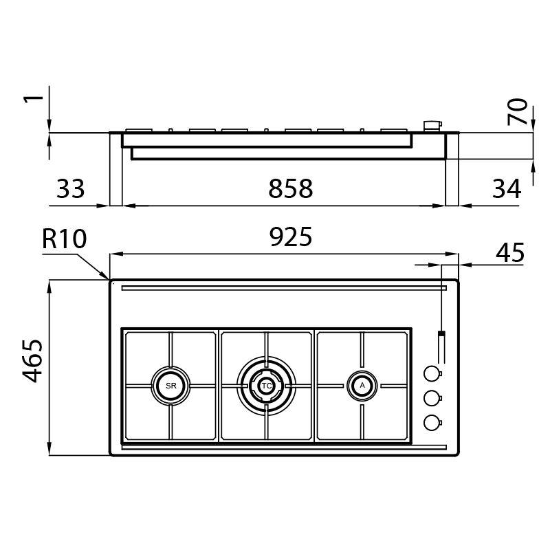 Aragaz S4000 Line XL 7285 032